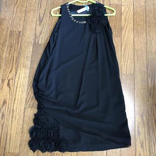ロートレアモン(LAUTREAMONT)の【38サイズ】ロートレアモン ドレス 黒(ミディアムドレス)