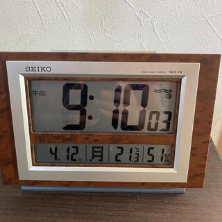 セイコー(SEIKO)のSEIKO 電波時計(置時計)