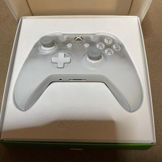 エックスボックス(Xbox)のXbox ワイヤレス コントローラー (ファントム ホワイト)+カバー+ケーブル(その他)