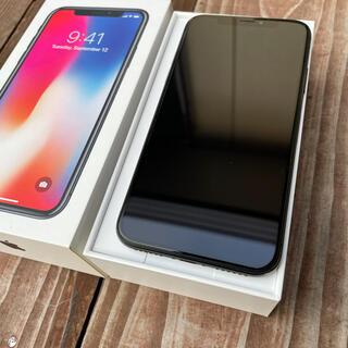 iPhone - iPhone X アッシュグレー 64GB  SIMフリー