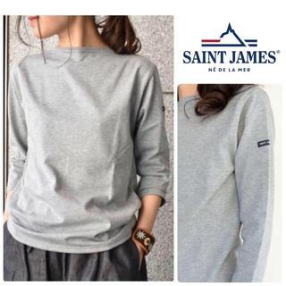 SAINT JAMES - SAINT JAMES ギルドウェッソン Tシャツ T1 新品 グレー S