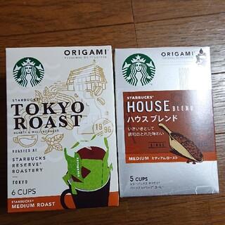 スターバックスコーヒー(Starbucks Coffee)のスターバックス オリガミコーヒー  ORIGAMI(コーヒー)