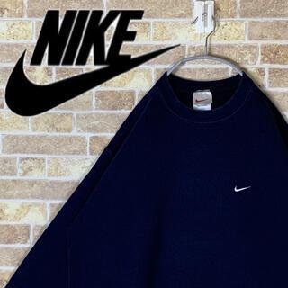 NIKE - 送料無料!! ナイキ 人気 刺繍ロゴ ゆるだぼ 90s シンプル トレーナー