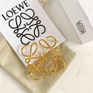 LOEWE - 極美品! LOEWE ブローチ ゴールド
