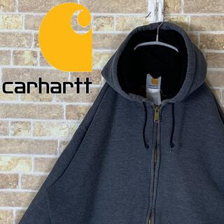 carhartt - 送料無料!! カーハート 刺繍ロゴ ゆるだぼ 90s パーカービックシルエット