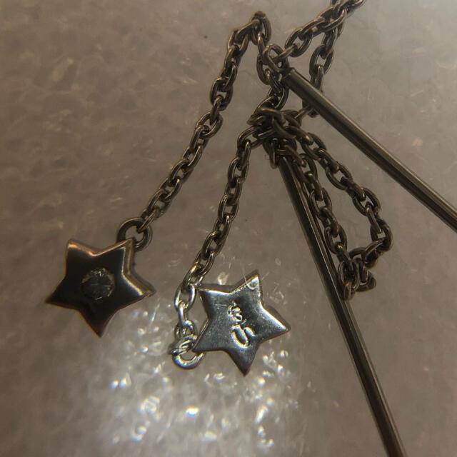 STAR JEWELRY(スタージュエリー)のスタージュエリー  プラチナ ダイヤモンド付 アメリカンピアス レディースのアクセサリー(ピアス)の商品写真