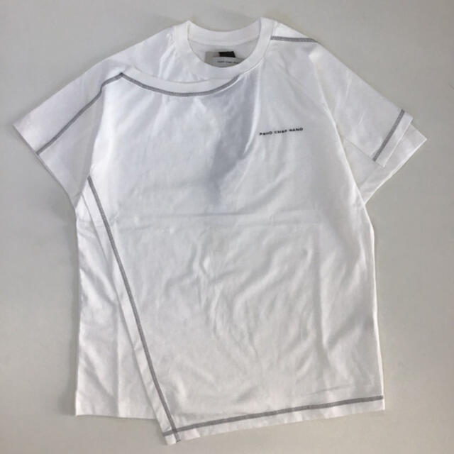 kolor(カラー)のFENG CHEN WANG T-SHIRT | WHITE Tシャツ メンズのトップス(Tシャツ/カットソー(半袖/袖なし))の商品写真