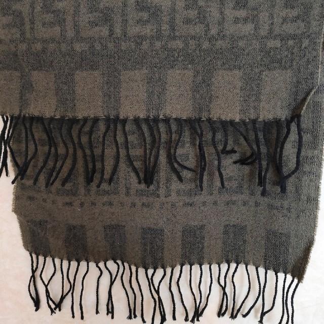 FENDI(フェンディ)のFENDIウールマフラー レディースのファッション小物(マフラー/ショール)の商品写真