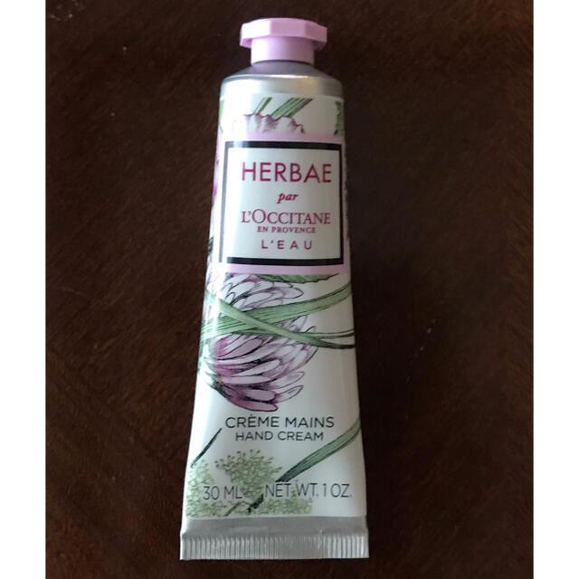 L'OCCITANE(ロクシタン)のロクシタン ハンドクリーム HARBAE シロツメクサの香り コスメ/美容のボディケア(ハンドクリーム)の商品写真