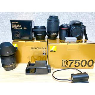 Nikon - ニコン Nikon D7500 レンズ2本付き