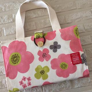 レビューブックカバー♡ピンクの花柄(ブックカバー)