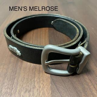 メンズメルローズ(MEN'S MELROSE)の【MEN'S MELROSE 】レザーベルト(ベルト)