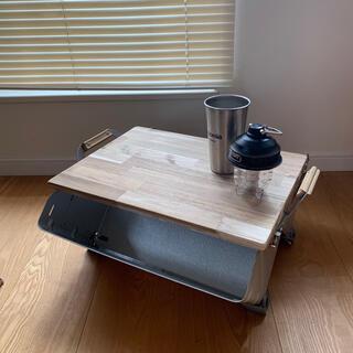 スノーピークシェルフコンテナ25専用 アカシヤ天板(アウトドアテーブル)