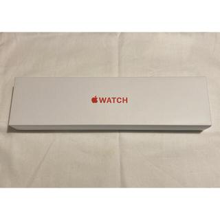 Apple Watch - Apple Watch 6 GPS 44mm RED スポーツループベルト