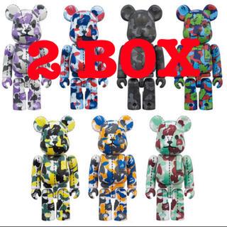 MEDICOM TOY - 2box 48個 BAPE BE@RBRICK 28TH ANNIVERSARY