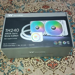 Thermaltake TH240 ARGB sync スノーエディション 水冷