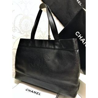 CHANEL - ◇◆ 極美品 CHANEL ★ シャネル キャビアスキン トートバッグ