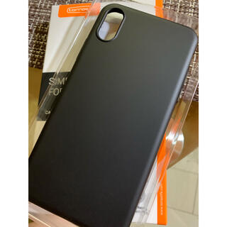 iPhone - turras iPhone XSケース【極薄マットBLACK.Amazon高評】