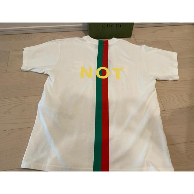 Gucci(グッチ)のお値下可❣️【新品】GUCCI グッチ❣️FAKE/NOT  Tシャツ❣️XS メンズのトップス(Tシャツ/カットソー(半袖/袖なし))の商品写真