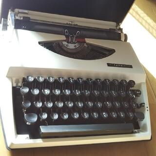 100年前のオランダ製タイプライター現役カタカナ表記も可能(武具)