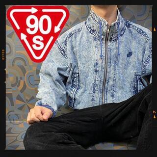 ナイキ(NIKE)の激レア ナイキ 90s デニムジャケット チャレンジコート キングヌー(Gジャン/デニムジャケット)
