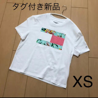 TOMMY HILFIGER - トミーヒルフィガー 半袖 Tシャツ レディース  XS