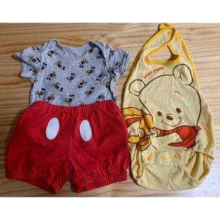 ディズニー(Disney)の【60-80サイズ】ディズニー ベビー服(その他)
