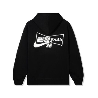 NIKE - wasted youth × Nike SB HOODY BLACK M 新品