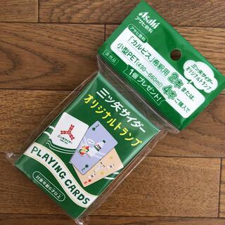 アサヒ(アサヒ)の三ツ矢サイダー オリジナルトランプ(トランプ/UNO)
