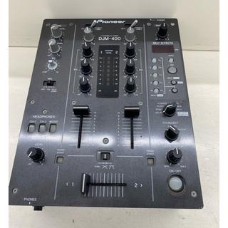 パイオニア(Pioneer)の特価 Pioneer  DJ ミキサー DJM-400(DJミキサー)