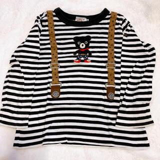 DOUBLE.B - DOUBLE.B 100cm 長袖Tシャツ カットソー ロンT