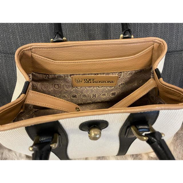 TOFF&LOADSTONE(トフアンドロードストーン)のトフアンドロードストーン ハイエンドキャンバス レディースのバッグ(トートバッグ)の商品写真