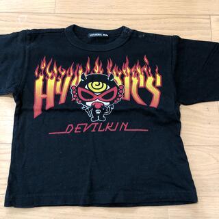 ヒステリックミニ(HYSTERIC MINI)のヒスミニ Tシャツ90 未使用(Tシャツ/カットソー)