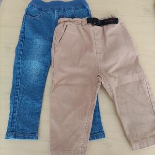 プティマイン(petit main)のpetitmain  ズボンセット プティマイン 90  2点セット(パンツ/スパッツ)