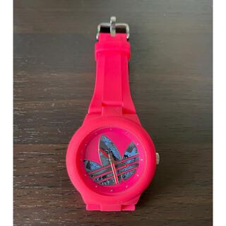アディダス(adidas)の【adidas】腕時計♡ピンク(腕時計)