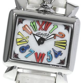 ガガミラノ(GaGa MILANO)のガガミラノ ナポレオーネ ベイビー  6035.01 レディース 【中古】(腕時計)