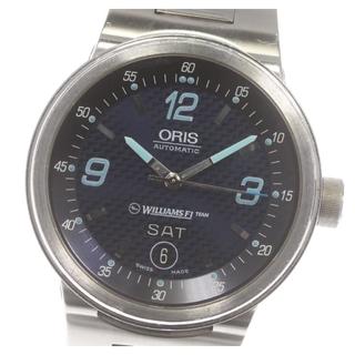 オリス(ORIS)のオリス ウィリアムズ F1チーム デイト 7560 自動巻き メンズ 【中古】(腕時計(アナログ))