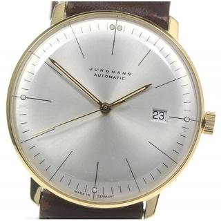ユンハンス(JUNGHANS)のユンハンス マックスビル デイト 027/7700 自動巻き メンズ 【中古】(腕時計(アナログ))
