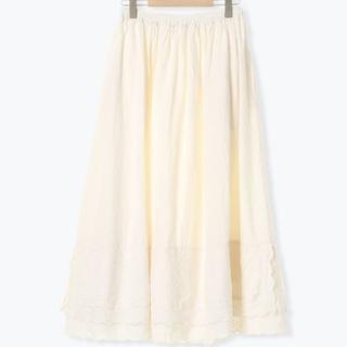 SM2 - 裾2段レーススカート