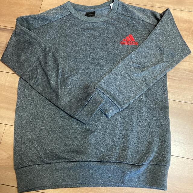adidas(アディダス)のアディダス トレーナー キッズ/ベビー/マタニティのキッズ服男の子用(90cm~)(Tシャツ/カットソー)の商品写真