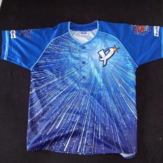 ヨコハマディーエヌエーベイスターズ(横浜DeNAベイスターズ)のベイスターズ非売品ベースボールシャツ2020 フリーサイズ(応援グッズ)