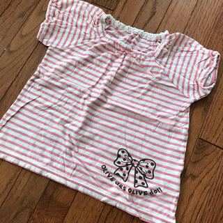 オリーブデオリーブ(OLIVEdesOLIVE)のオリーブデオリーブ  Tシャツ 120㎝(Tシャツ/カットソー)