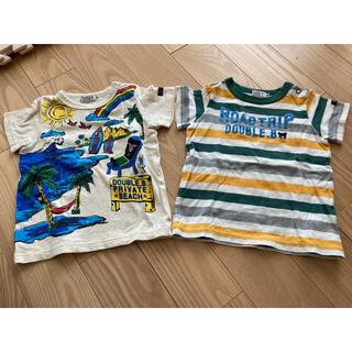 ダブルビー(DOUBLE.B)の【中古品】ダブルB 半袖Tシャツ 90(Tシャツ/カットソー)