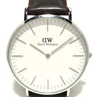 ダニエルウェリントン(Daniel Wellington)のダニエルウェリントン - ボーイズ 白(腕時計)