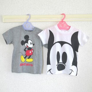 100cm ミッキー Tシャツ 2枚セット