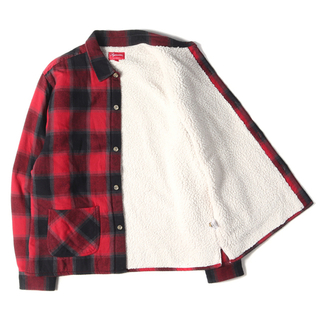 Supreme - Supreme  Buffalo Plaid Sherpa Lined