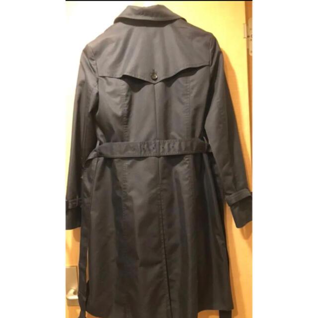 ANAYI(アナイ)の【良品】ANAYI ライナー(未使用)付きトレンチコート ネイビー レディースのジャケット/アウター(トレンチコート)の商品写真