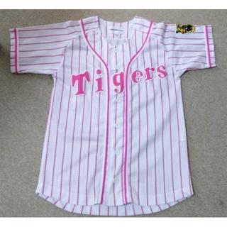 ハンシンタイガース(阪神タイガース)の阪神タイガース応援ユニフォームキッズピンク120(応援グッズ)