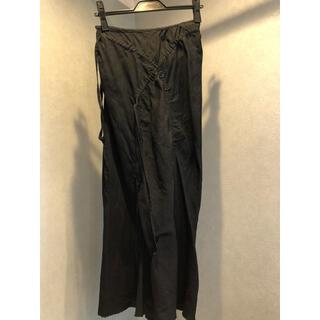 ジュンヤワタナベコムデギャルソン(JUNYA WATANABE COMME des GARCONS)のコムデギャルソン ジュンヤワタナベ 変形ロングスカート 黒(ロングスカート)