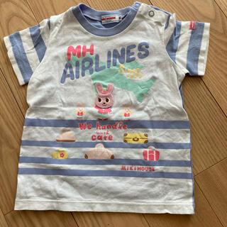 ミキハウス(mikihouse)の【中古品】ミキハウス 半袖Tシャツ 90(Tシャツ/カットソー)